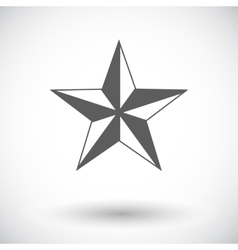 Christmas star vector