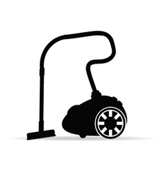 Vacuum cleaner for icon vector