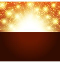 Bright golden background vector