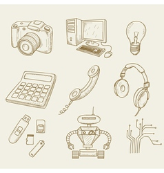 Electronics vector