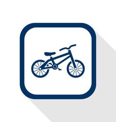 Bike flat icon vector