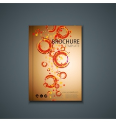 Flyer or banner brochure template vector