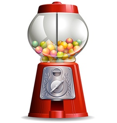 Candy machine vector