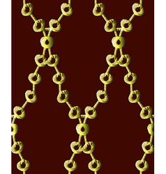 Gold chain pattern7 vector