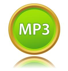 Mp3 icon vector