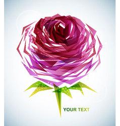 Geometric rose vector