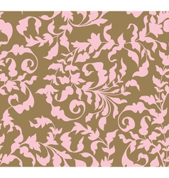 Vintage seamless floral ornament vector