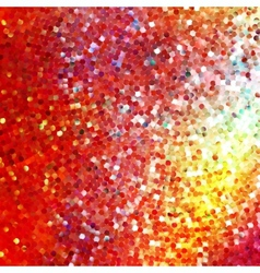 Glitters on a soft blurred background eps 10 vector
