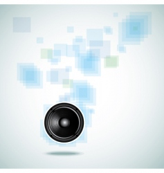 Abstract background with speaker vector