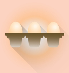 Eggs for sale vector