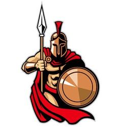 Spartan army vector