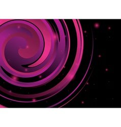 Abstract background with violet spiral figure vector