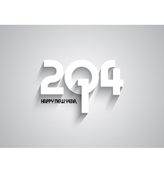 Simplistic text background for the new year vector
