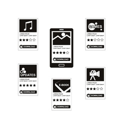 Download applications vector