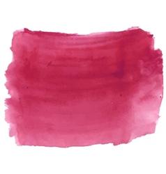 Dark deep red watercolor vector