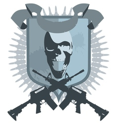 Emblem gangster vector