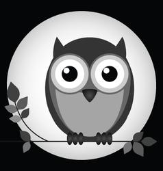 Night owl vector