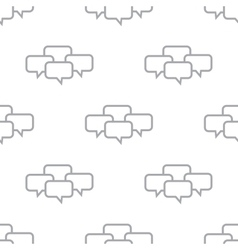 New dialog seamless pattern vector