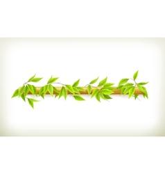 Foliage banner vector