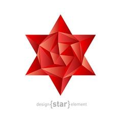 Luxury crystal flower vector