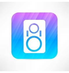 Music column icon vector