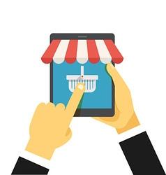 Digital commerce vector