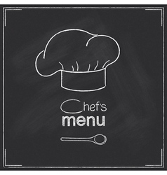 Restaurant chefs menu design vector