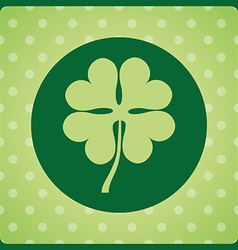 Clover leaf design vector