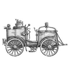 Vintage car logo design template vehicle vector