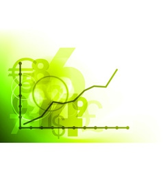 Graph background vector
