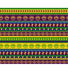 Green warrior pattern vector