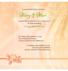 Abstract wedding fabric background design vector