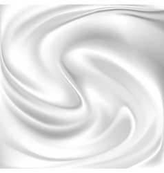 Abstract white silk background vector