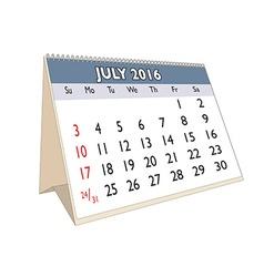 July 2016 vector