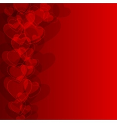 Abstract background to the valentines day vector