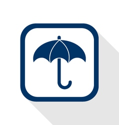 Umberlla flat icon vector