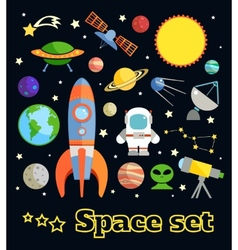 Space elements set vector