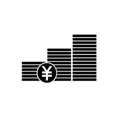 Finance money icon vector