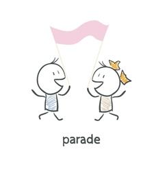 Parade vector