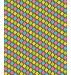 Bright abstract diamond shape seamless pattern vector