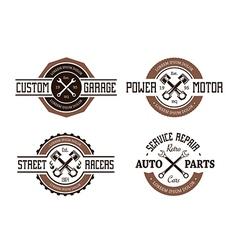 Auto emblems vector