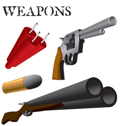 Weapons vector