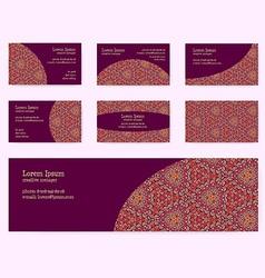 Document template design vector
