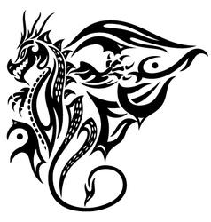 Dragon wings vector