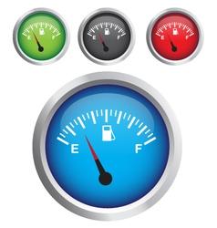 Circular fuel display vector
