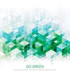 Abstract green backgrounds vector