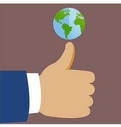 Thumb global vector