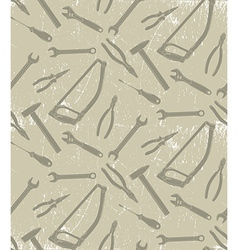 Pattern with working tools vector