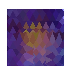 Dark violet abstract low polygon background vector