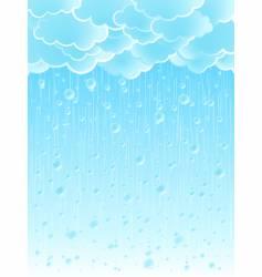 Weather background vector